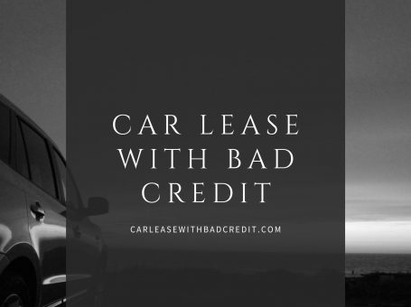 Car Lease With Bad Credit