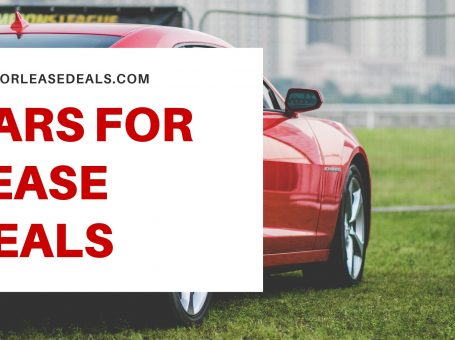 Cars For Lease Deals
