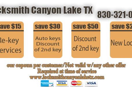 Locksmith Canyon Lake TX
