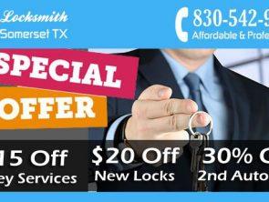 Locksmith Somerset TX