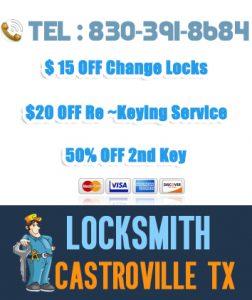 Locksmith Casteoville TX