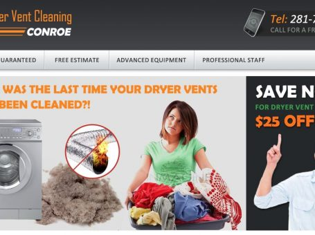 Dryer Vent Cleaning Conroe TX